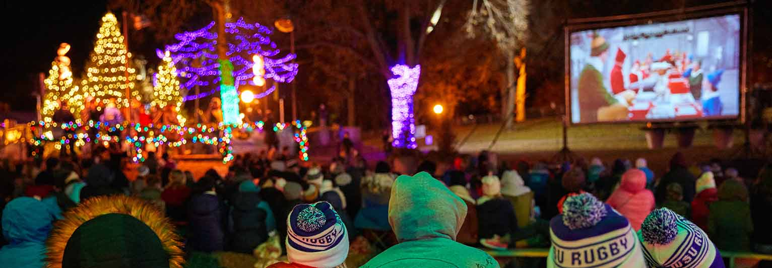 holidazzle movie nights presented by us bank
